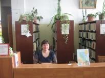 Кузьмина Анна Германовна Библиотекарь абонемента Детского отдела.JPG
